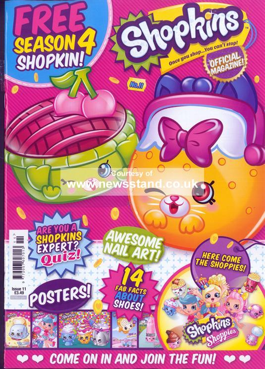 Introducing Shopkins Magazine