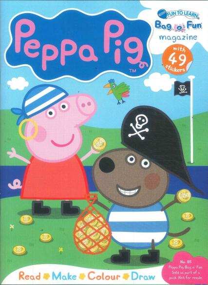 Fun to Learn Peppa Pig - Unique Magazines Blog