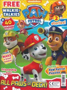 Paw Patrol Magazine issue 20, July 2017