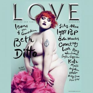 Love Magazine Beth Ditto Cover 2009
