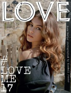 Love Magazine Kaia Gerber Cover Issue 17