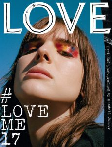 Love Magazine Hari Nef cover Issue 17