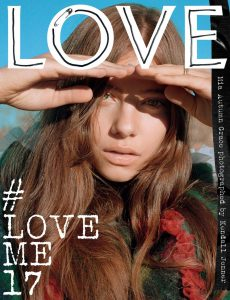Love Magazine Mia Autumn Cover Issue 17