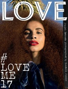 Love Magazine Joyjah Estrada cover issue 17