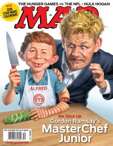 Mad magazine issue 536 October 14th 2015