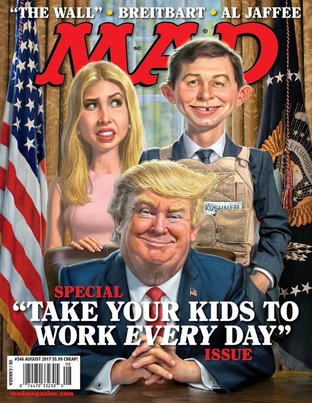 Mad magazine issue 545 April 19th, 2017