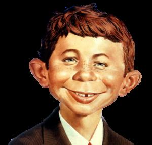 Alfred E Neuman Mad magazine mascot