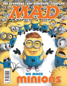 Mad Magazine issue 534 June 17th, 2015