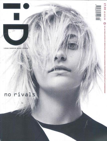 i-D magazine cover - issue 02 August 2017