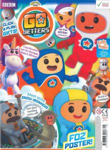 Go Jetters issue 16 - click and play gifts, Jet Pad sticker mission