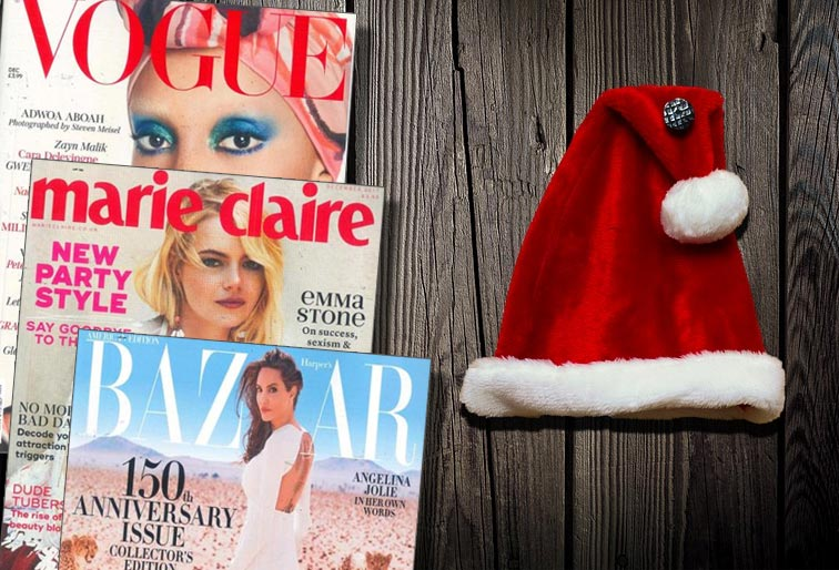 Festive Fashion magazines