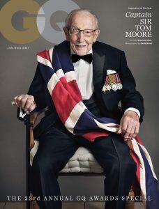 Unique Magazines GQ - Captain Sir Tom Moore