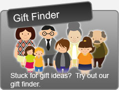 Stuck for gift ideas?  Try our Gift Finder