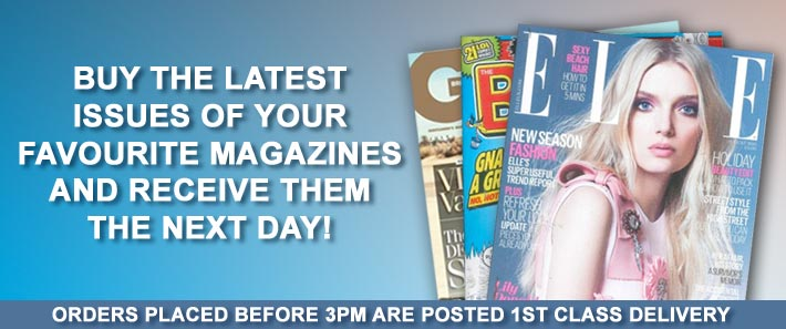 Buy the latest issue of your favorite magazine today!