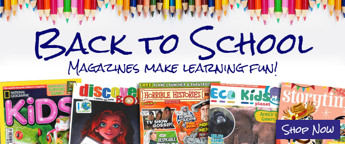 Back to School Magazines make learning fun