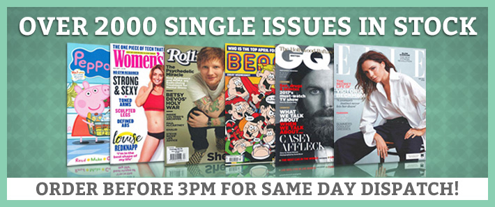 Over 2000 Single Issues in Stock